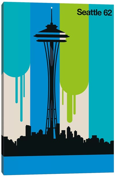 Seattle 62 Canvas Art Print