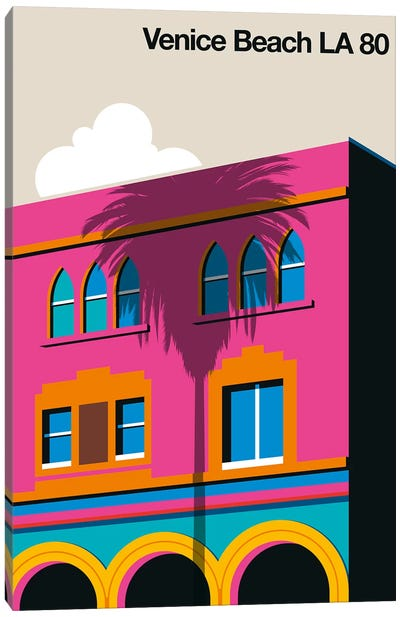 Venice Beach 80 Canvas Art Print