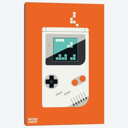 Nintendo Game Boy Canvas Print #UND82} by Bo Lundberg Canvas Artwork