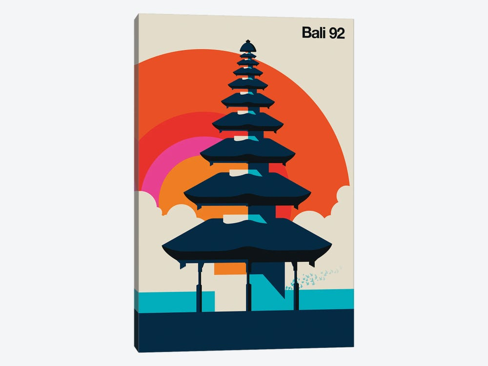 Bali 92 by Bo Lundberg 1-piece Art Print