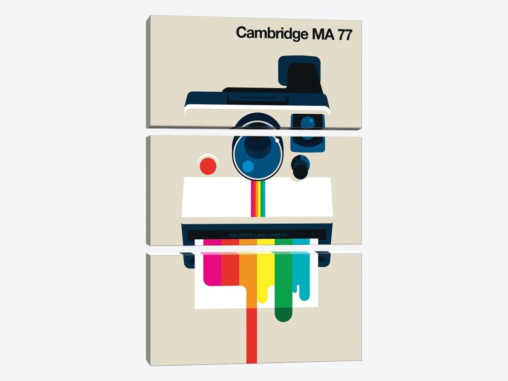 Cambridge MA 77 by Bo Lundberg 3-piece Canvas Print