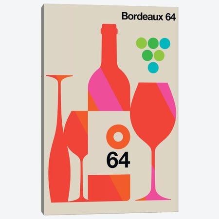 Bordeaux 64 Canvas Print #UND8} by Bo Lundberg Canvas Art