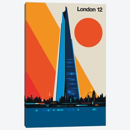 London 12 Canvas Print #UND90} by Bo Lundberg Canvas Art Print