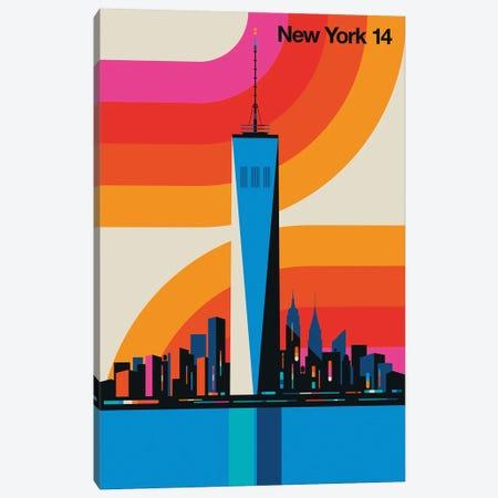 New York 14 Canvas Print #UND93} by Bo Lundberg Canvas Print