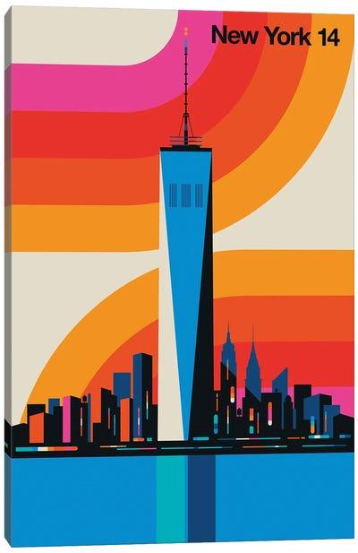 New York 14 Canvas Art Print