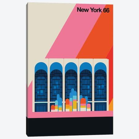 New York 66 Canvas Print #UND94} by Bo Lundberg Canvas Artwork
