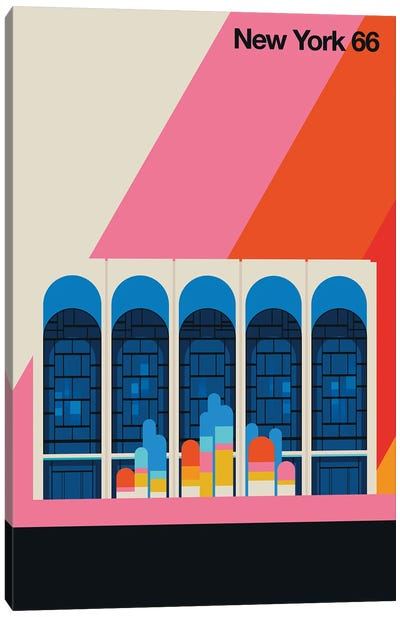 New York 66 Canvas Art Print