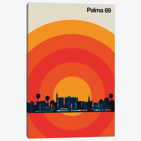 Palma 69 Canvas Print #UND95} by Bo Lundberg Canvas Artwork