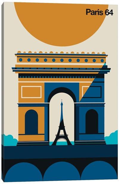 Paris 64 Canvas Art Print