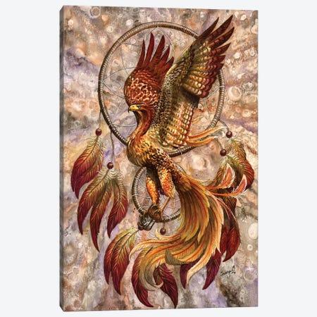 Phoenix Dreamcatcher Canvas Print #UNI11} by Sunima Canvas Art