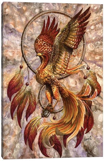 Phoenix Dreamcatcher Canvas Art Print