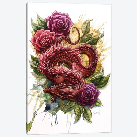 Rose Canvas Print #UNI12} by Sunima Canvas Wall Art