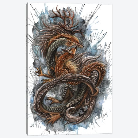 Autumn Spirits 3-Piece Canvas #UNI2} by Sunima Art Print