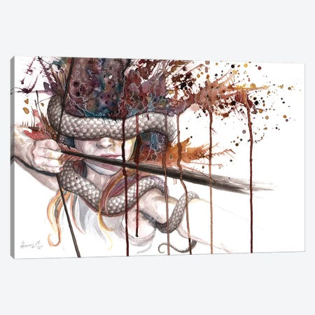 Blinded Archer Canvas Print #UNI4} by Sunima Canvas Wall Art