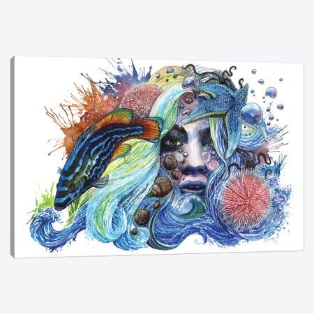 Breathless 3-Piece Canvas #UNI5} by Sunima Canvas Artwork