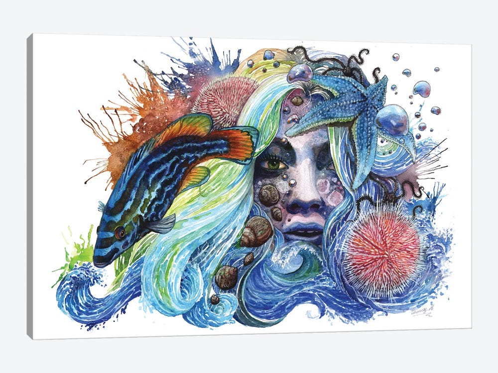 Breathless by Sunima 1-piece Canvas Wall Art