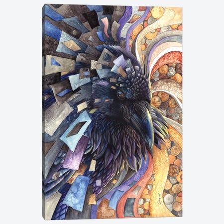 Greed Canvas Print #UNI7} by Sunima Canvas Art
