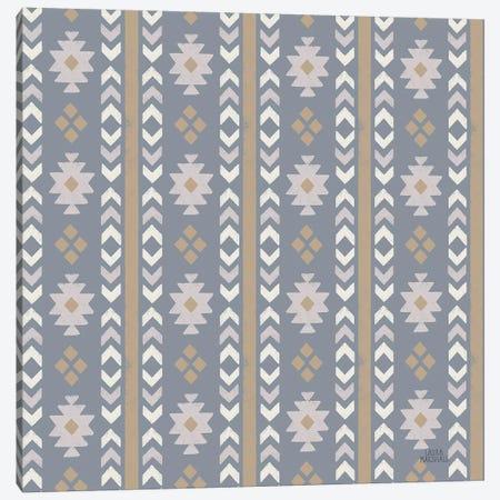 Gone Glamping Pattern VC Canvas Print #URA100} by Laura Marshall Art Print