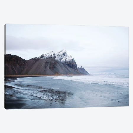 Vestrahorn Canvas Print #URA108} by Laura Marshall Art Print