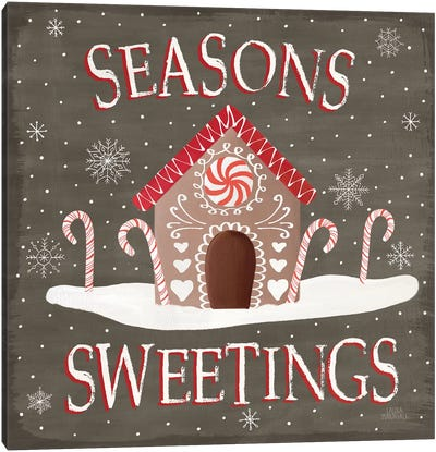 Christmas Cheer VII Seasons Sweetings Canvas Art Print