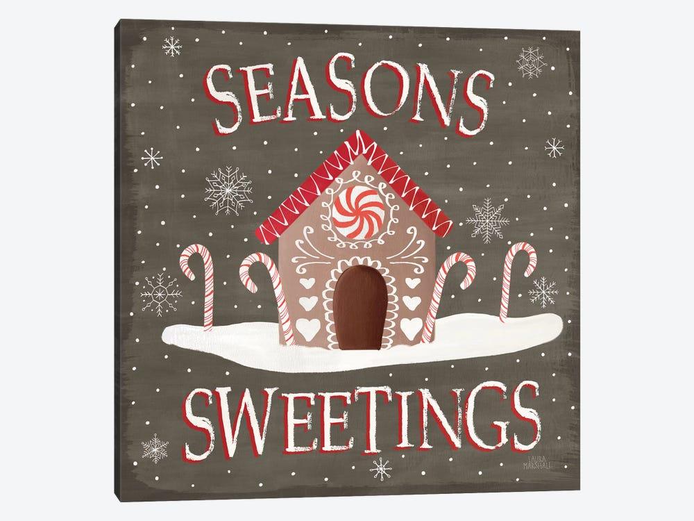 Christmas Cheer VII Seasons Sweetings by Laura Marshall 1-piece Canvas Wall Art