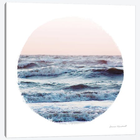 Coastal Colors I Canvas Print #URA125} by Laura Marshall Canvas Wall Art