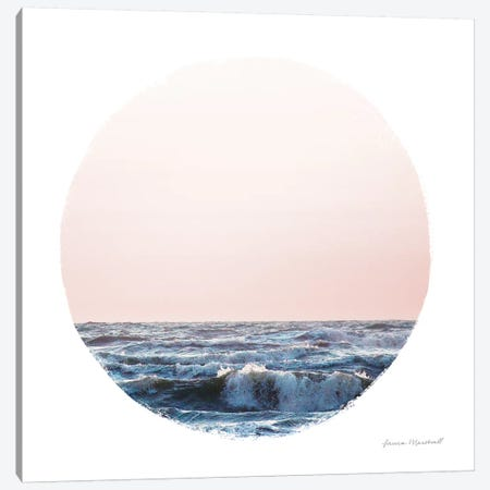 Coastal Colors II Canvas Print #URA126} by Laura Marshall Canvas Art