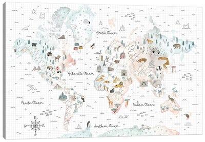 World Traveler I Canvas Art Print