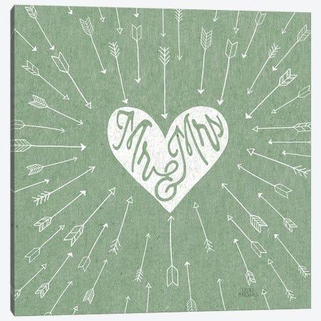 Lovestruck I Sq Canvas Print #URA134} by Laura Marshall Art Print