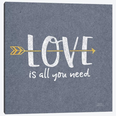 Lovestruck V Sq Canvas Print #URA138} by Laura Marshall Canvas Wall Art