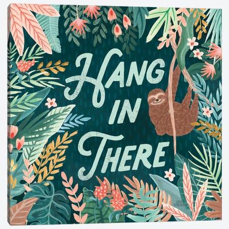 Jungle Hangout II Canvas Print #URA169} by Laura Marshall Canvas Print