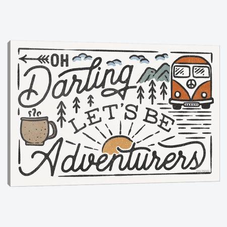 Adventurous I Canvas Print #URA174} by Laura Marshall Canvas Art Print