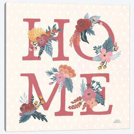 Love Letters IX Canvas Print #URA180} by Laura Marshall Art Print