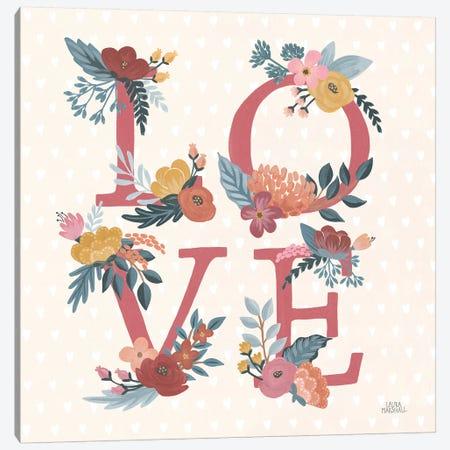 Love Letters VII Canvas Print #URA181} by Laura Marshall Canvas Art Print