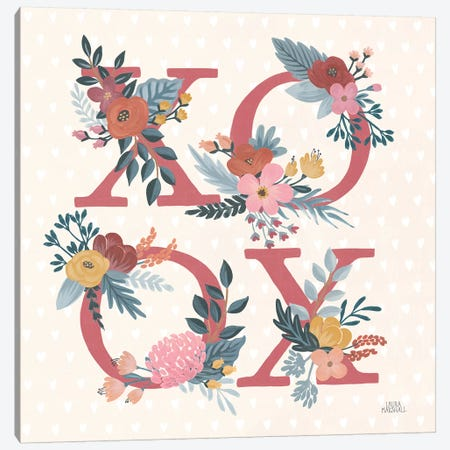 Love Letters VIII Canvas Print #URA182} by Laura Marshall Canvas Print