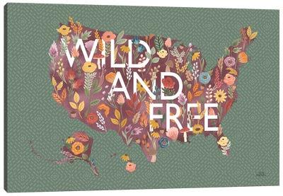 Harvest Garden USA Green Canvas Art Print