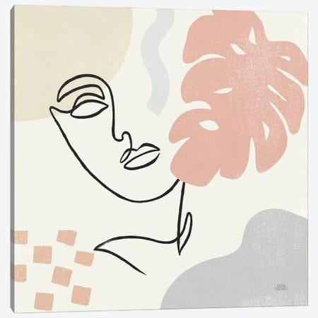 Through the Window I Canvas Print #URA190} by Laura Marshall Canvas Wall Art