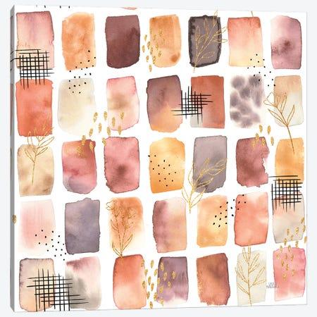 Desert Blooms Pattern Xiia Canvas Print #URA196} by Laura Marshall Canvas Print