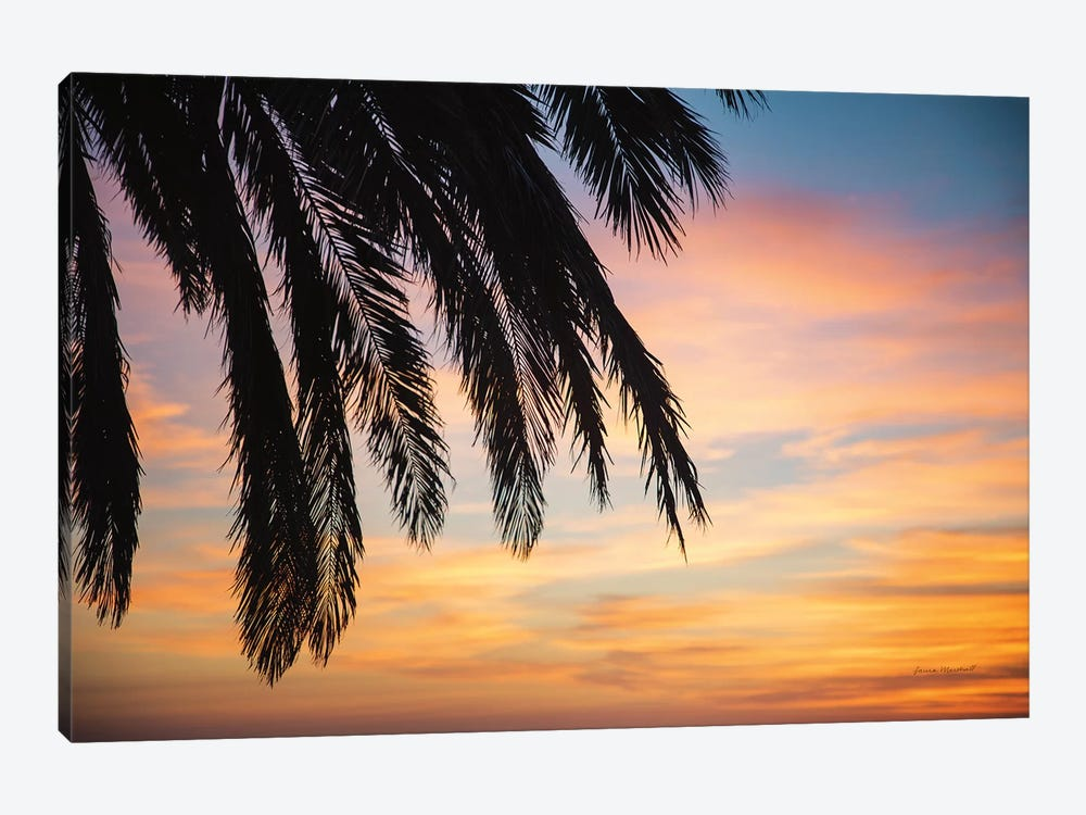 Sunset Palms I by Laura Marshall 1-piece Canvas Wall Art