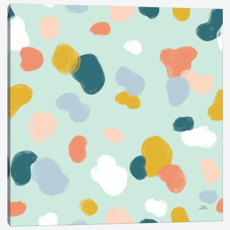 Wild Garden Pattern IXA 3-Piece Canvas #URA45} by Laura Marshall Canvas Print