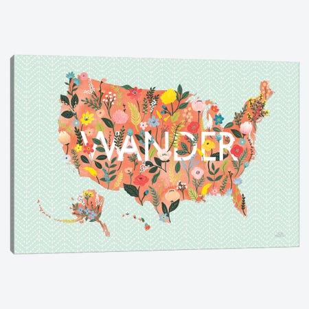 Wild Garden USA Canvas Print #URA47} by Laura Marshall Canvas Print