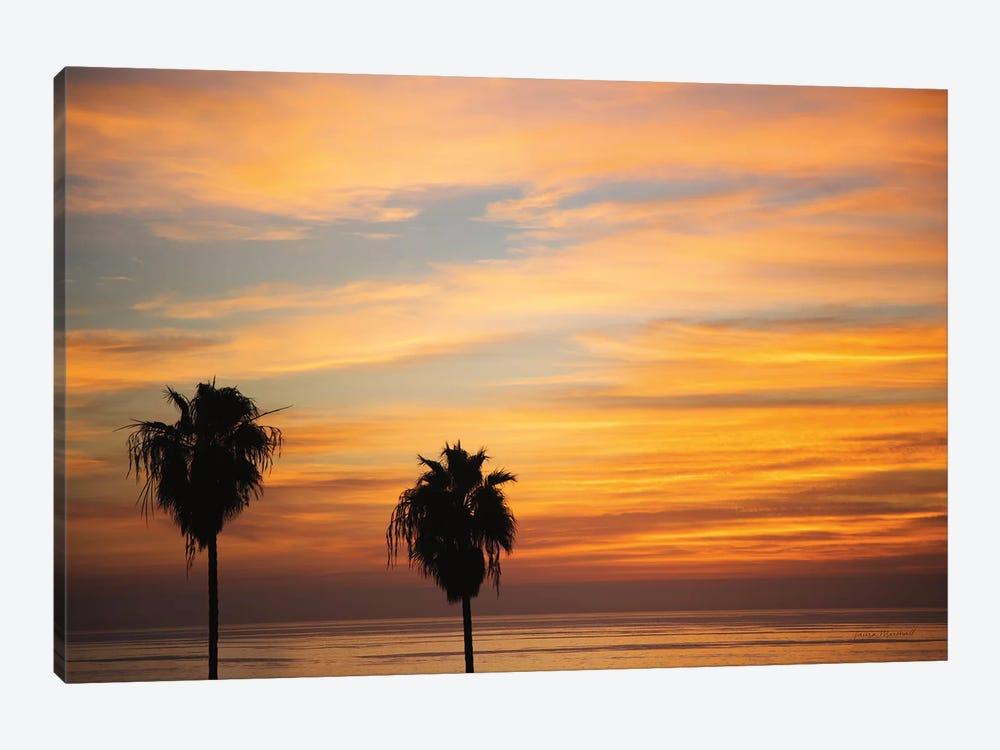 Sunset Palms III by Laura Marshall 1-piece Canvas Wall Art