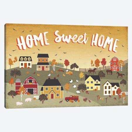 Harvest Village II Canvas Print #URA59} by Laura Marshall Art Print