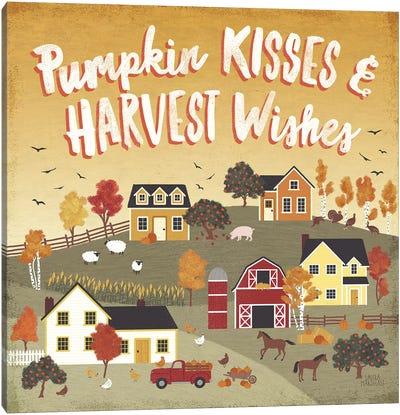 Harvest Village IV Canvas Art Print