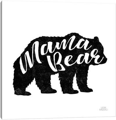 Mama Bear Canvas Art Print