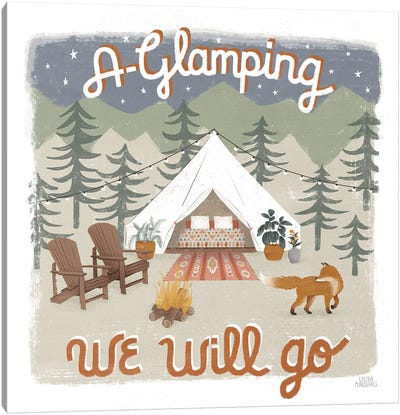 Gone Glamping III Canvas Art Print