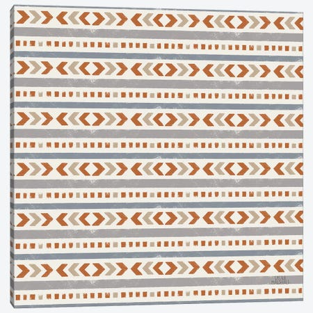 Gone Glamping Pattern IVA Canvas Print #URA94} by Laura Marshall Canvas Wall Art