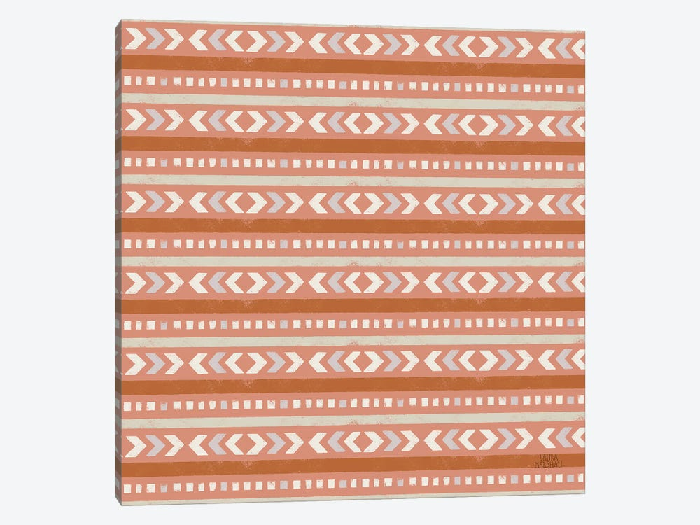 Gone Glamping Pattern IVD by Laura Marshall 1-piece Canvas Wall Art