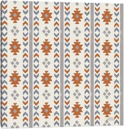 Gone Glamping Pattern VA Canvas Art Print
