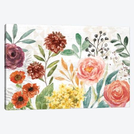 Flower Fest I Canvas Print #URB104} by Mary Urban Canvas Wall Art